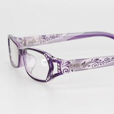 Purple Rhinestone Women Spring Hinges Reading Glasses +1.00 +2.00 +3.00 +4.00