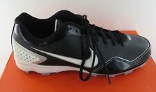 Nike Keystone Low Mens Black Synthetic Leather Cleats - NWD - Size 9 & 11