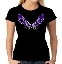 CATWOMAN T-Shirt, Tank Top or Fitted V-Neck Tee *DC Comics*