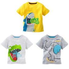 Hot Sell! Cute Toddler Baby Kids Boys Catroon Tees Tops T-shirt Age 1-6 Years