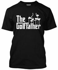 Golf Father Funny Golfer Gift Fathers Day Birthday Tee Mens T-Shirt Many Colours