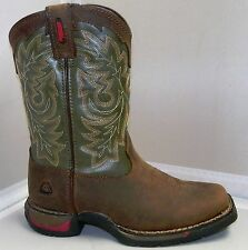 ROCKY  # FQ0002570 YOUTH LONG RANGE SQUARE TOE WESTERN BOOT- Several Sizes