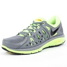 NIKE DUAL FUSION RUN 2 LIVESTRONG COOL GREY BLACK FLASH LIME MAIZE 599180 001