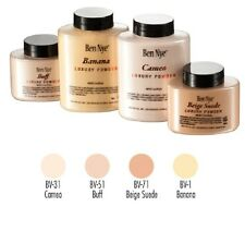 Ben Nye Visage Poudre Luxury Powder in Banana, Cameo, Beige Suede & Buff