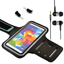 4In1 Sport Gym Armband Arm Running Jogging Headphones For Various Mobile Phones