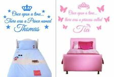CHOOSE YOUR NAME Vinyl Wall Art Sticker Decals Childrens Childs Kids Bedroom NEW