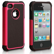 Shock Proof Hybrid Builder Cover Hard Silicone Case for Apple iPhone 6 4/S 5S 5C