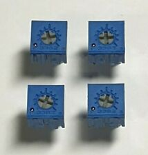 Parage potentiomètre-top réglable-de 7mm square - 4 Pack-valeurs multiples