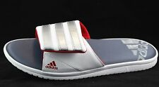 adidas Zeitfrei FitFOAM FF 2.0 Men's Slide Sandals (White) B23277 Size 13 NWT