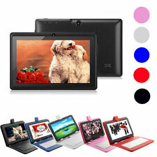"7"" Android 4.4 Quad Core 4GB Dual Camera Tablet PC WiFi+3G Bluetooth w/ Keyboard"