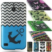 For Huawei AT&T Tribute / Fusion 3 Design Case Hard Slim Protective Phone Cover