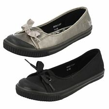 Teenage Girls Startrite Angry Angel Casual Flat Shoes - Diva