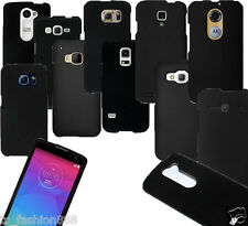 Guaranteed Quality Phone Cover BLACK Hard Snap-On Case FOR ALL MODELS
