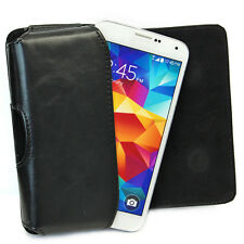 PU Leather Belt Clip Holster Case Pouch for Samsung Galaxy S5 i9600 Mobile Phone