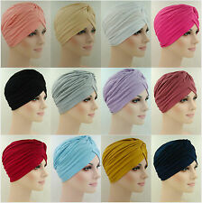 Turbans Under Scarf Beanie Bonnet Hair Net Chemo Patient Cap Hat Headscarf Hijab