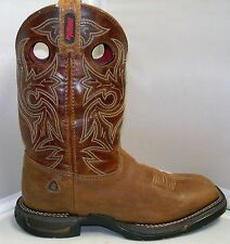 Rocky Mens FQ0008075 Long Range - Square Toe Western Work Boot