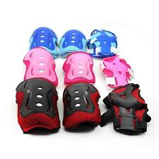 Kids Child Bike Skating Skateboard Knee Guard Elbow Wrist Pad Protective Gear x1