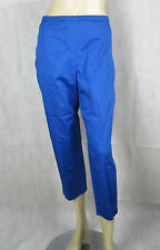Ex Chainstore Ladies Cropped Trousers Blue Long Short Regular 8-16