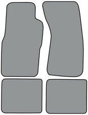 1989-1997 Mercury Cougar Cutpile 4pc Factory Fit Floor Mats