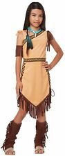 Pocahontas Native American Princess Indian Maiden Girl's Costume Child S Medium