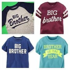 """~NEW~ """"BIG BROTHER"""" Baseball Boys Graphic Shirt 2T 3T 4T 5T 4 5 6 7 Kids Gift!"""