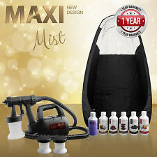 Maximist Lite Plus - Complete Spray Tan kit Includes Tent & Sunless Solutions