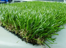 Synthetic Turf Artificial Lawn Fake Grass Lawn Rubber Backed With Drainage Hole