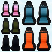 cc Chevrolet Camaro-Pontiac  Xtreme Highback  front and rear  car seat covers