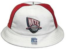 New! New Jersey Nets Bucket Hat Embroidered Sun Hat - Red/White - Reebok
