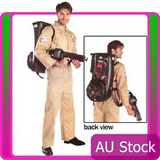 Licensed Mens Ghostbusters Halloween Adult Costume Fancy Dress Party Outfits