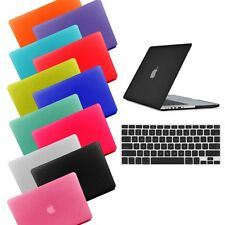 """MacBook Air 13 Case 13.3"""" Rubberized Hard Case Laptop Cover Keyboard + LCD Film"""