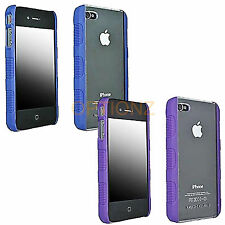 New Original Body Glove Fringe Hard Clear Shell Back Case Cover for IPhone 4 4S