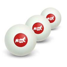 Russia Home Country Table Tennis Ping Pong Ball 3 Pack