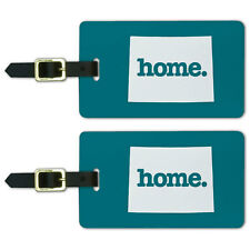 Colorado CO Home State Luggage Suitcase ID Tags Set of 2