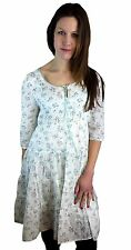 WOMENS VINTAGE STYLE FLORAL SUMMER DRESS SIZES 6 8 10 12 14 16 18 20
