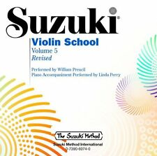 Suzuki Violin School, Vol. 5 (The Suzuki Method) by Shinichi Suzuki