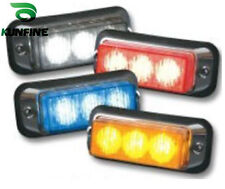 New Avail water-proof LED strobe lights 3*1W High Power lamps with fash patterns