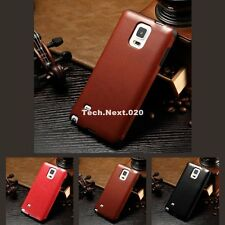 New For Samsung Galaxy Note 4 PU Leather Silicone Case N4 Soft Back Cover Skin