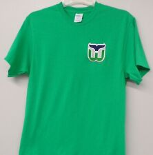 Hartford Whalers NHL Hockey Embroidered Adult T-Shirts S-6XL New England New!
