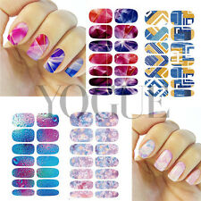 DIY Water Transfer Nail Art Sticker Wraps Manicure Decal Tips Decoration Floral