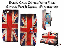 New Union Jack Flag Leather Smart Stand Pu Case Cover For Apple iPhone 4 4G 4S