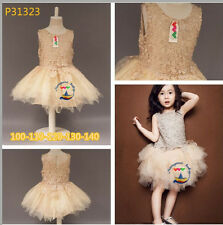 New baby Girls Kids lace Toddler Dance Dress Party Costume Ballet Tutu 2-8T