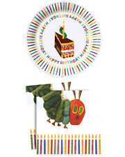 Party Plates & Napkins - The Very Hungry Caterpillar Happy Birthday Tableware