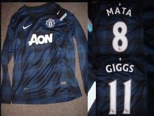 Manchester United Nike BNWT Boys Youth XL Giggs Mata Rooney Soccer Shirt Jersey