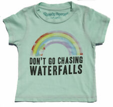 New Authentic Rowdy Sprout TLC Waterfalls Toddler Tee Shirt in Mint