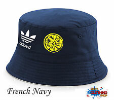 Stone Roses Spike Island Adored 25th Anniversary Tribute  Bucket Hat - Navy