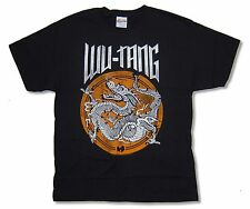 "WU TANG CLAN ""DRAGON"" BLACK BAND T-SHIRT NEW OFFICIAL ADULT"