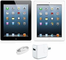 "Apple iPad 4th Generation 9.7"" Retina display 16GB WiFi + 4G GSM UNLOCKED Tablet"