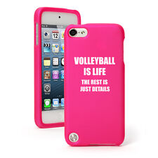 For Apple iPod Touch 4th 5th 6th Rubber Hard Case Cover Volleyball Is Life