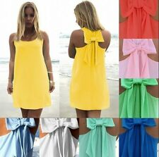 Sexy Casual Women Summer Sleeveless Party Evening Cocktail Short Mini Dress S-XL